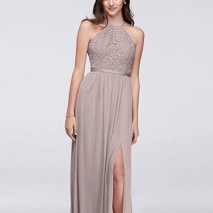 Cameo bridesmaid dress